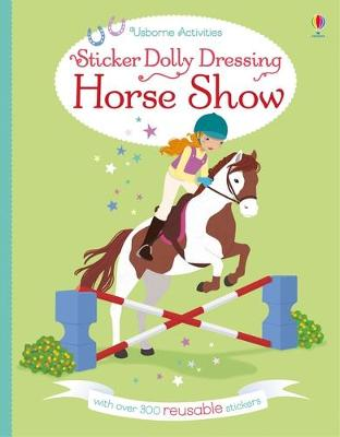 Sticker Dolly Dressing Horse Show by Lucy Bowman