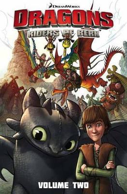 Dragons - Riders of Berk by Simon Furman
