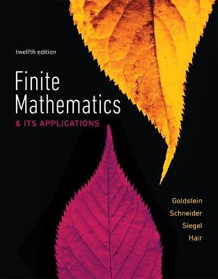 Finite Mathematics & Its Applications by Larry Goldstein
