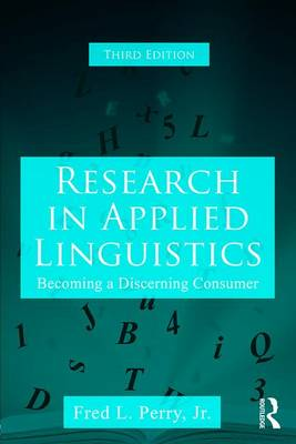 Research in Applied Linguistics by Fred L. Perry, Jr.