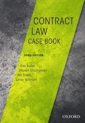 Contract Law Casebook by Des Butler