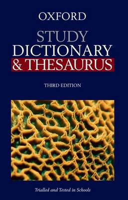 Oxford Study Dictionary & Thesaurus book