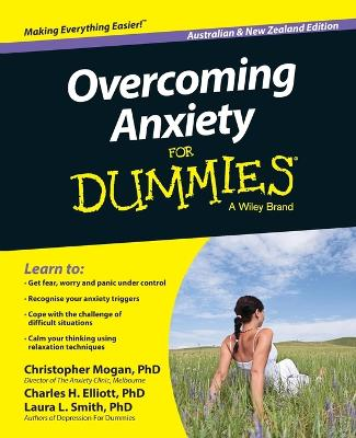 Overcoming Anxiety for Dummies, Australian and New Zealand Edition by Christopher Mogan
