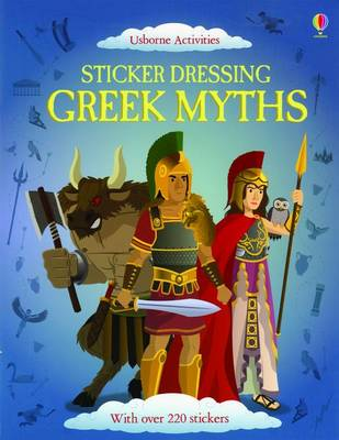 Sticker Dressing Greek Myths by Lisa Jane Gillespie