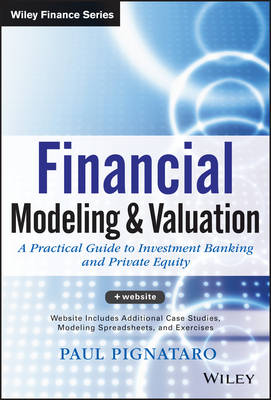 Financial Modeling and Valuation + Website by Paul Pignataro
