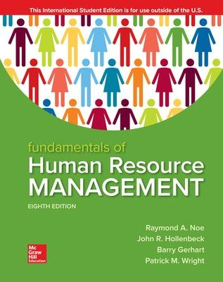 ISE Fundamentals of Human Resource Management book