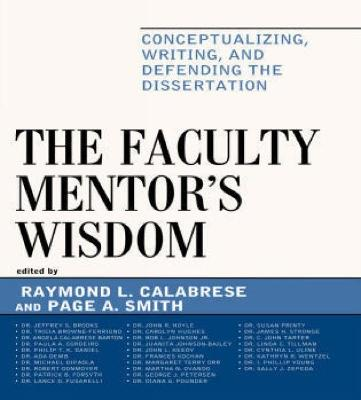 Faculty Mentor's Wisdom by Raymond L. Calabrese