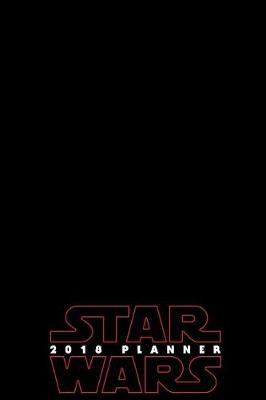 2018 Star Wars Planner - Red by Pyramid Planners