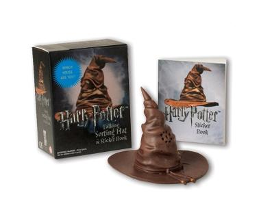 Harry Potter Talking Sorting Hat and Sticker Book: Which House Are You? by Running Press