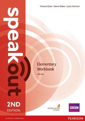 Speakout Elementary 2nd Edition Workbook with Key book