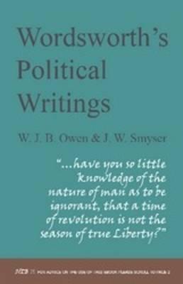 Wordsworth's Political Writings by W. J. B. Owen