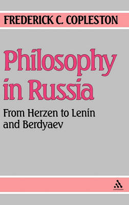 Philosophy in Russia by Frederick C. Copleston