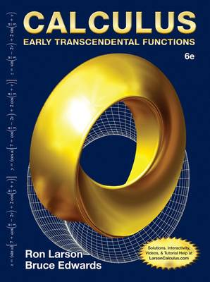 Calculus: Early Transcendental Functions by Bruce Edwards