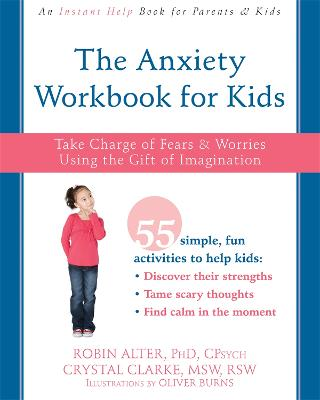 Anxiety Workbook for Kids by Alter