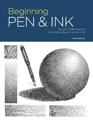Portfolio: Beginning Pen & Ink: Tips and techniques for learning to draw in pen and ink book