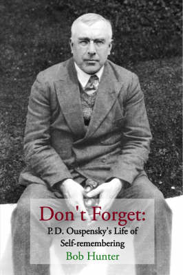 Don't Forget by Bob Hunter