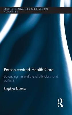Person-centred Health Care by Stephen Buetow