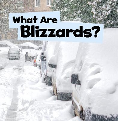 What Are Blizzards? by Mari Schuh