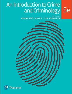 An Introduction to Crime and Criminology book