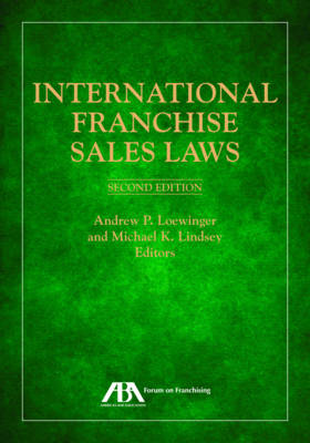 International Franchise Sales Laws by Michael Lindsey