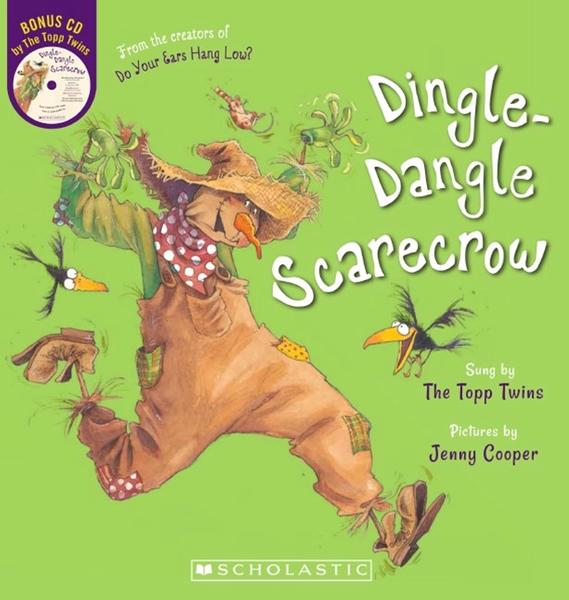 Dingle Dangle Scarecrow BB + CD by Jenny Topp Twins