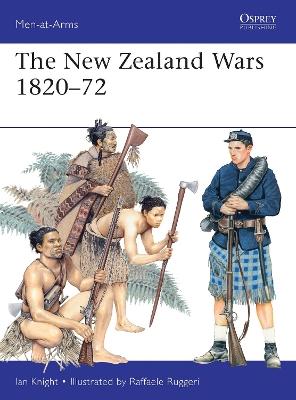 New Zealand Wars 1820-72 book