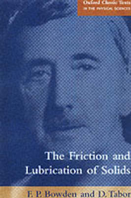 Friction and Lubrication of Solids book