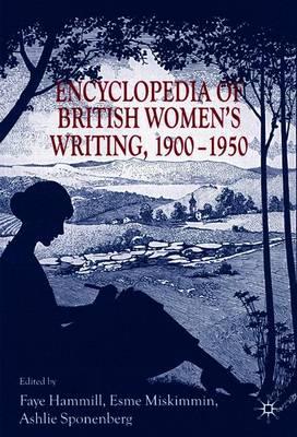 Encyclopedia of British Women's Writing 1900-1950 book