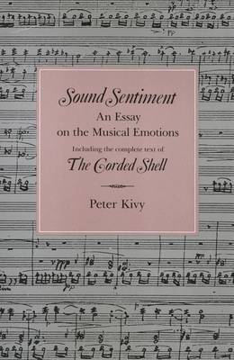 Sound Sentiment by Peter Kivy