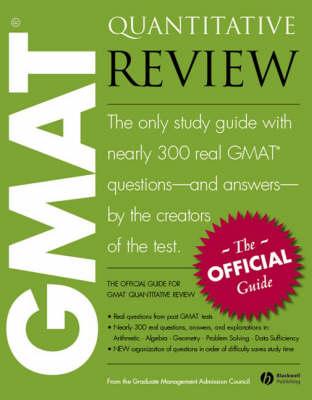 The Official Guide for GMAT Quantitative Review by Graduate Management Admission Council (GMAC)