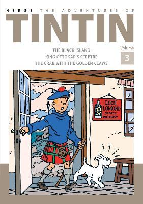 Adventures of Tintin Volume 3 book