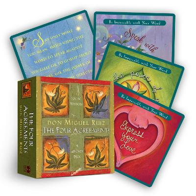 The Four Agreements Cards by Don Jose Ruiz