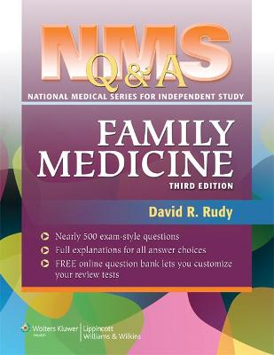 NMS Q&A Family Medicine by David R. Rudy
