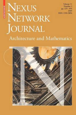 Nexus Network Journal 11,3 by Kim Williams