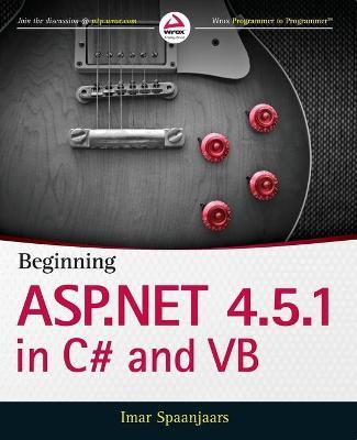 Beginning ASP.NET 4.5.1 by Imar Spaanjaars