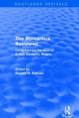 Romantics Reviewed by Donald H. Reiman