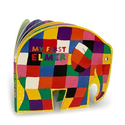My First Elmer: Shaped Board Book book