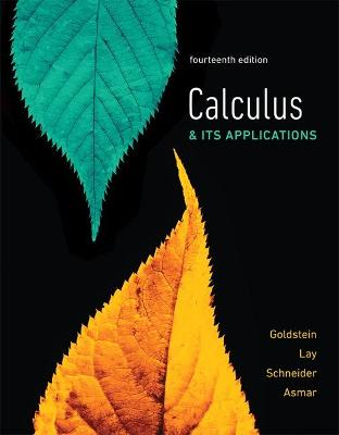 Calculus & Its Applications by Larry Goldstein