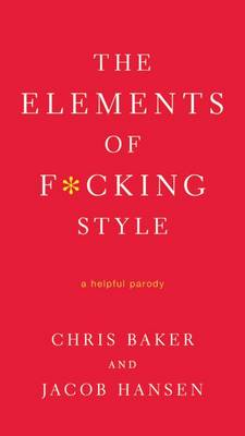 Elements of F*cking Style book
