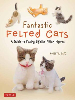 Fantastic Felted Cats: A Guide to Making Lifelike Kitten Figures (With Full-Size Templates) by Housetsu Sato