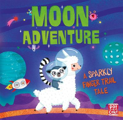 Finger Trail Tales: Moon Adventure by Pat-a-Cake