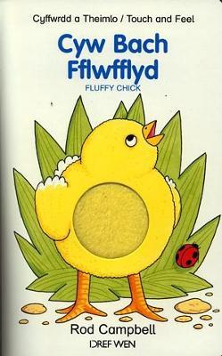 Cyw Bach Fflwfflyd - Cyffwrdd a Theimlo / Fluffy Chick - Touch and Feel by Rod Campbell
