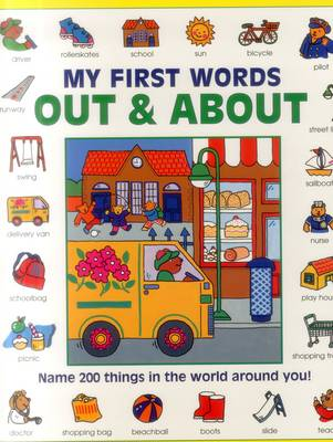 My First Words: Out & About (Giant Size) by Baxter Nicola