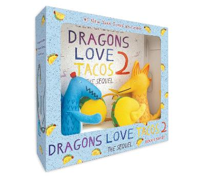 Dragons Love Tacos 2 Book and Toy Set book