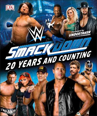 WWE SmackDown 20 Years and Counting book