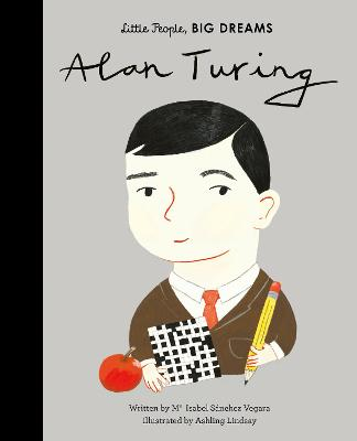 Alan Turing by Maria Isabel Sanchez Vegara