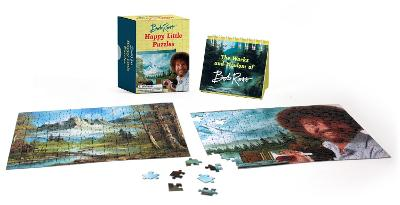 Bob Ross: Happy Little Puzzles by Bob Ross