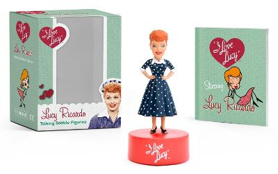I Love Lucy: Lucy Ricardo Talking Bobble Figurine book