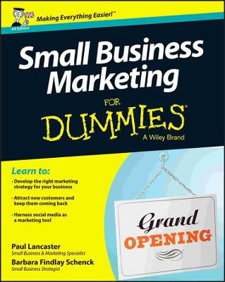 Small Business Marketing for Dummies by Paul Lancaster