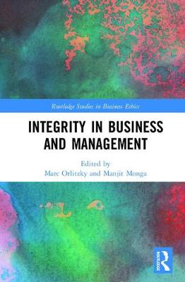 Integrity in Business and Management by Marc Orlitzky